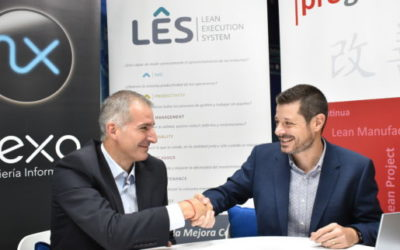 Progressa Lean y Nexo se alían para revolucionar la industria 4.0